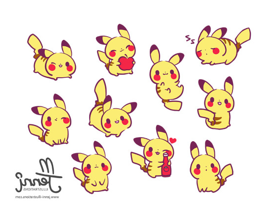 Dibujos Para Colorear Pikachu: Dibujos Para Dibujar, Colorear, Imprimir