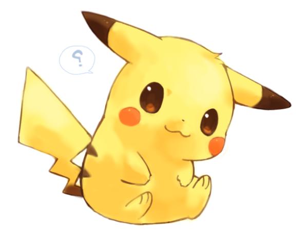 pikachu kawaii   dibujos para dibujar colorear imprimir