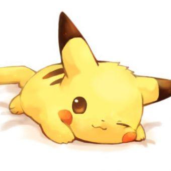 dibujos de pikachu kawaii para dibujar colorear imprimir