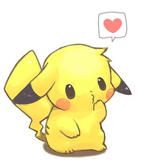Galeria Dibujos Pikachu Kawaii on Dibujos Para Recortar
