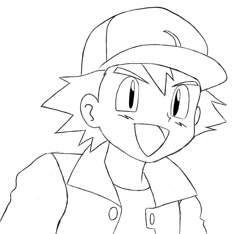 Dibujos Para Colorear En El Ordenador Online. Cartoon Man Working At ...