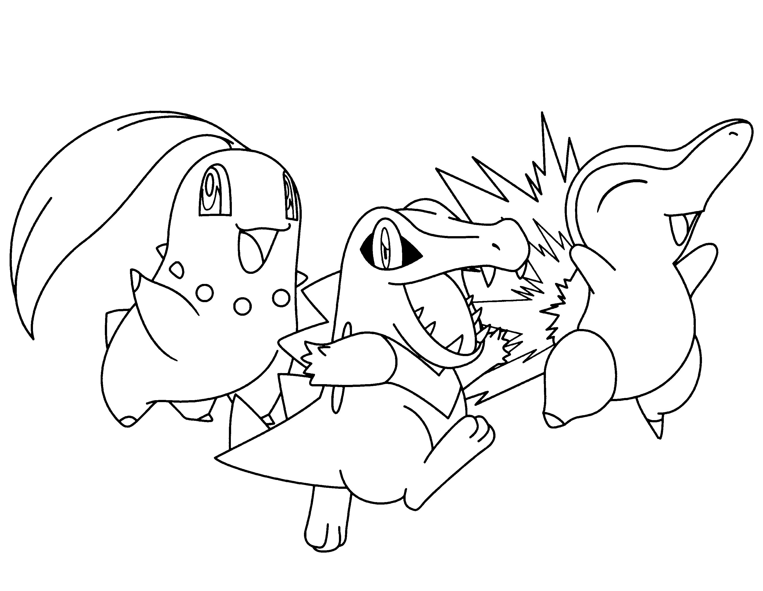 Dibujos Para Colorear Online De Pokemon