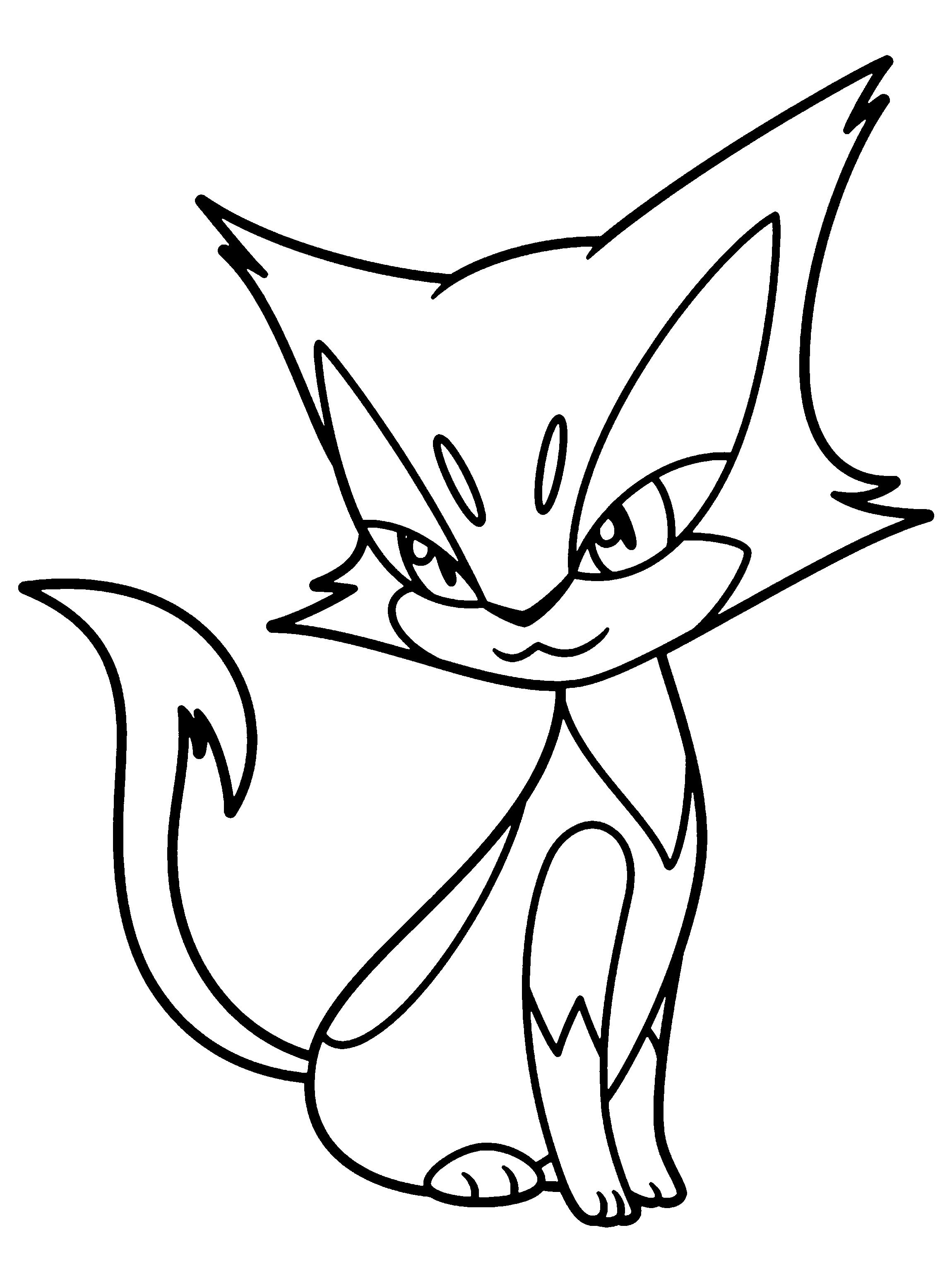dibujos de pokemon coloreados