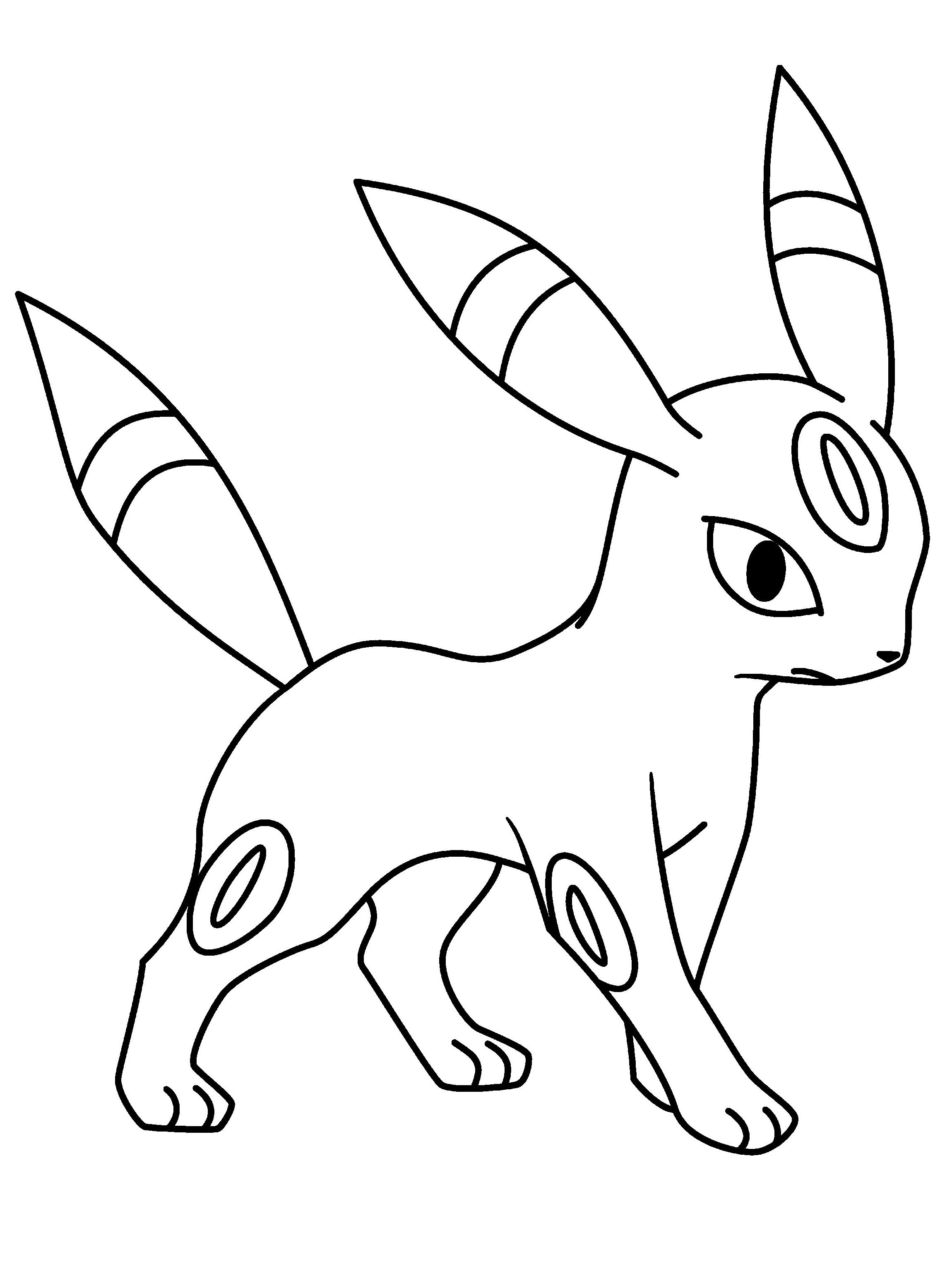 ▷ Dibujos de Pokémon para dibujar, colorear, pintar e imprimir